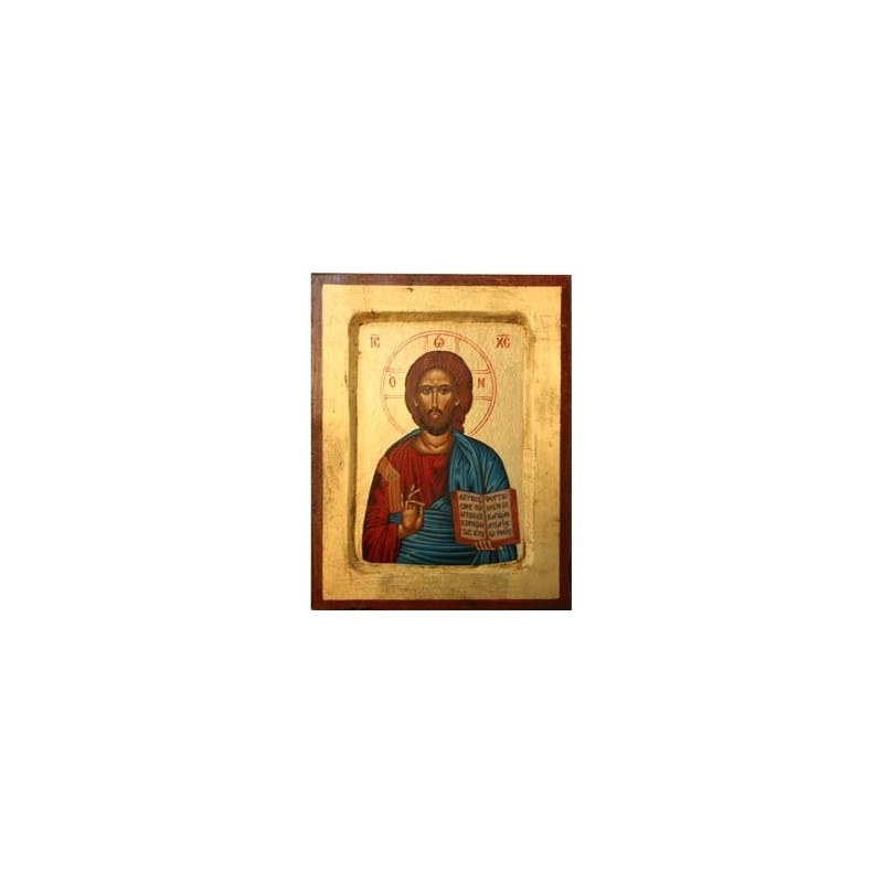 Jesus Christus der Segnende (1) - Vertiefter Rahmen