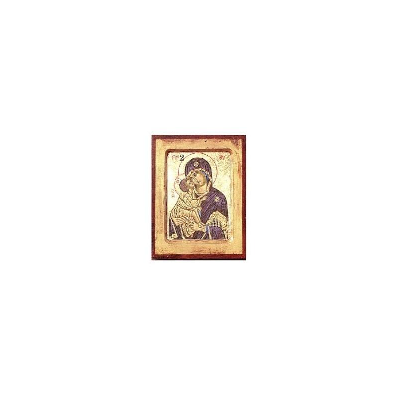 Mutter Gottes der Liebe (2) - Vertiefter Rahmen