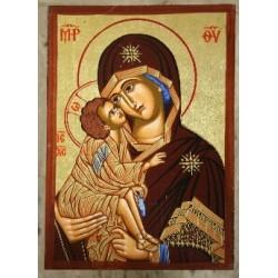 Mutter Gottes der Liebe (2) - Einfacher Rahmen