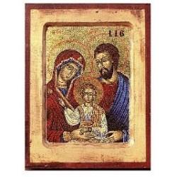 Heilige Familie (116) - Vertiefter Rahmen
