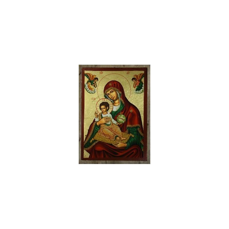 Mutter Gottes von Korfu (8) - Einfacher Rahmen
