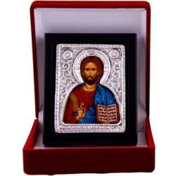 Jesus Christus der Segnende (1) - Silber im Etui