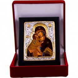 Mutter Gottes der Liebe (2) - Silber / Gold im Etui