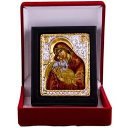 Mutter Gottes die Innbruenstige (5) - Silber / Gold im Etui