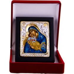 Mutter Gottes die Innbruenstige (3) - Silber / Gold im Etui
